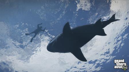 Rockstar libera cinco nuevas imágenes de 'Grand Theft Auto V'. Protagonistas, aviones y submarino incluidos