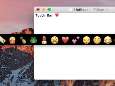 Cómo probar la Touch Bar del nuevo MacBook Pro en cualquier Mac