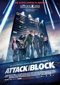 Cartel español de Attack the block