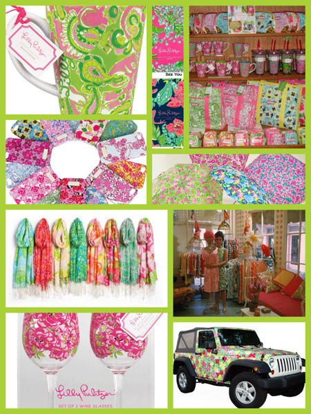 Collage Lilly Pulitzer