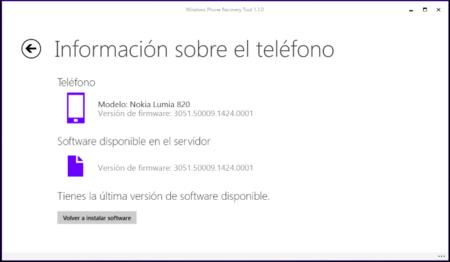 Windows Phone Recovery Tool se actualiza, y ya no provoca problemas en los Lumia 520