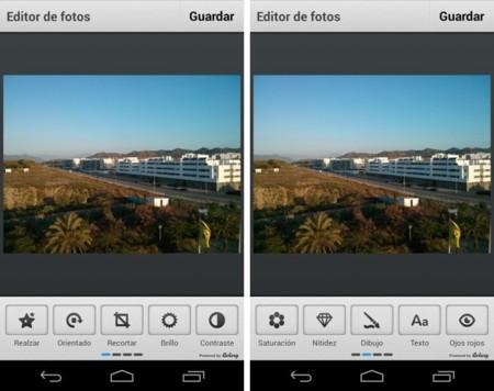 El rediseño de Flickr en el móvil - editor
