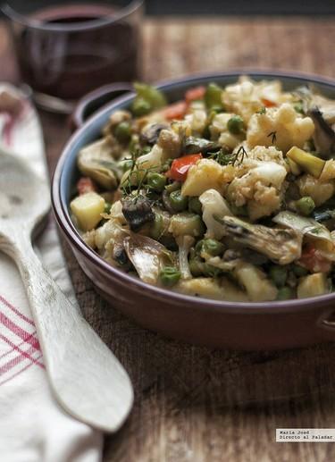 Frito de verduras: receta mallorquina tuneada