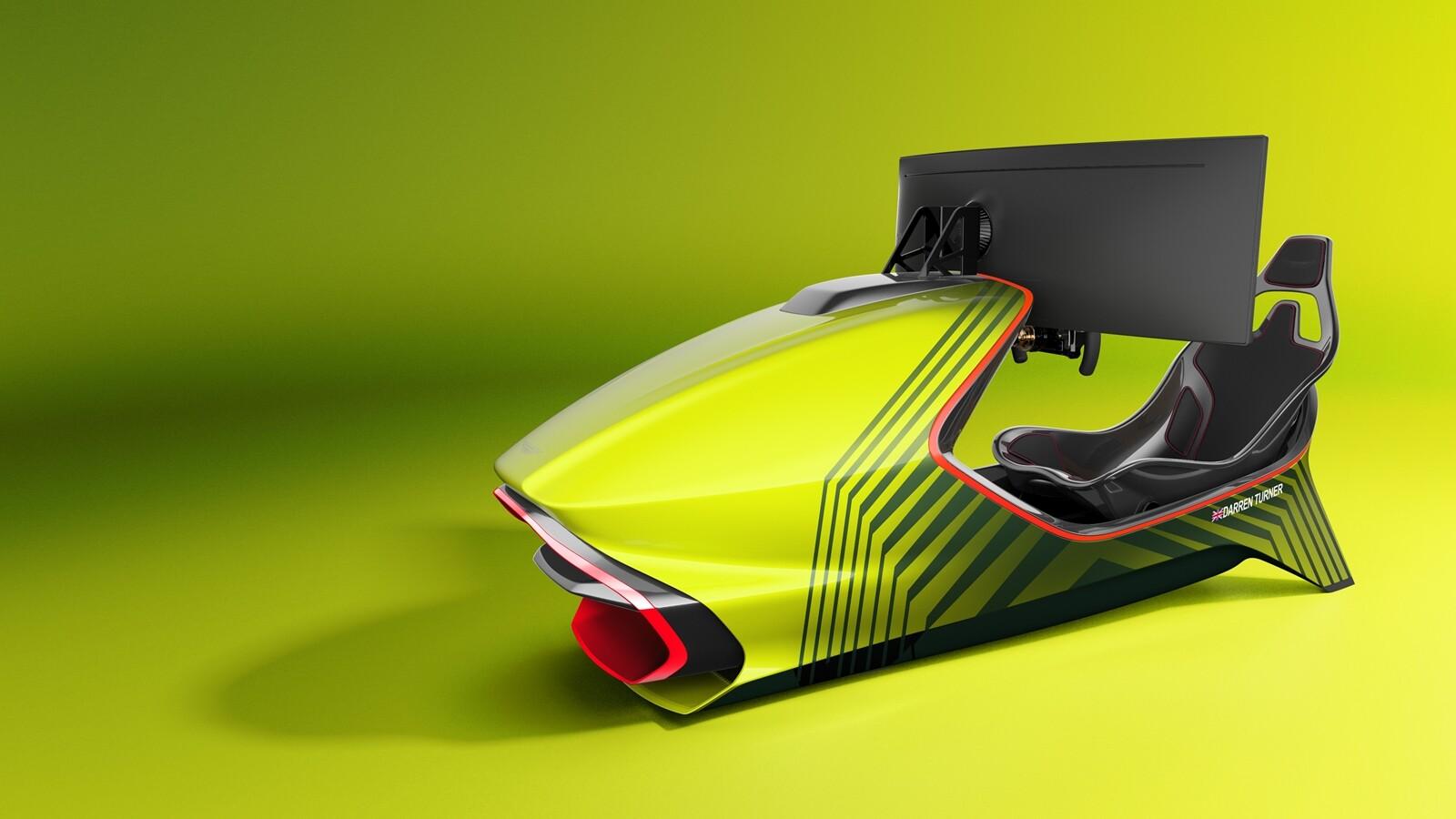 Foto de Simulador Aston Martin AMR-C01 (8/19)