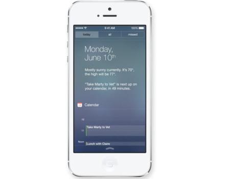 iOS 7 notificaciones