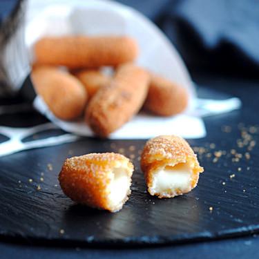 Cómo hacer los mozzarella sticks o palitos de mozzarella de McDonalds