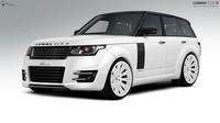 Range Rover CLR R, la nueva creación de Lumma Design