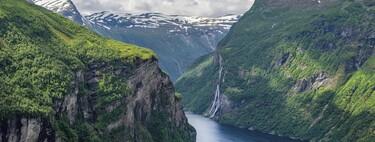 El circuito turístico más popular de Noruega, tren a Oslo, paseo por los fiordos y ruta en autobús de montaña