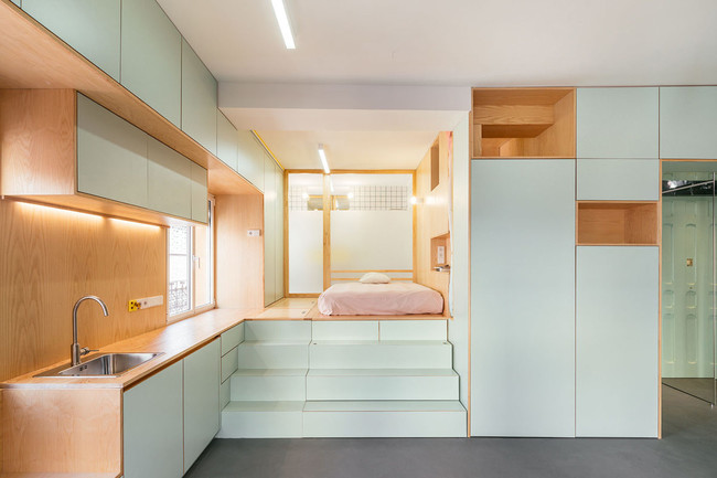 Yojigen Poketto, un apartamento de 34 metros cuadrados... ¿inspirado en Doraemon?