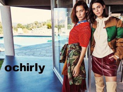 Ochirly la firma que te va a flipar después de conocer su nueva campaña (con Bella Hadid y Kendall Jenner)