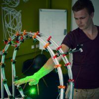 Curatio es un escáner 3D que tiene predilección por las manos