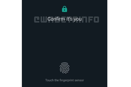 WhatsApp permitirá iniciar sesión en el navegador usando tu huella dactilar
