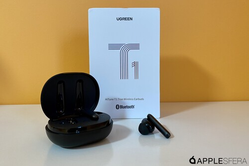 Los HighTune T1 de UGREEN, unos auriculares con bastante batería y buen sonido a un precio interesante