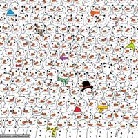 ¿Eres capaz de encontrar al Panda?