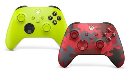 Alto voltaje y Daystrike Camo son los nuevos mandos de Xbox One y Series X/S que se unen a la lista de controladores de Microsoft