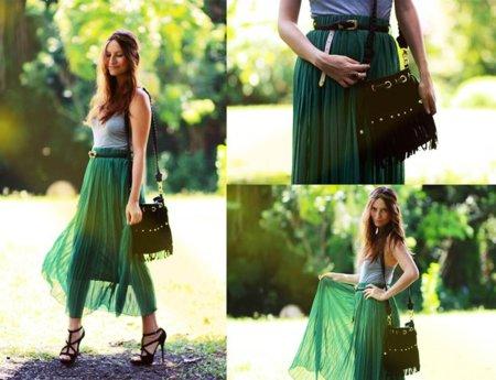 Melanie Moda en la calle