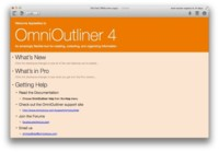 OmniOutliner 4 ya disponible, la navaja suiza de Omni Group