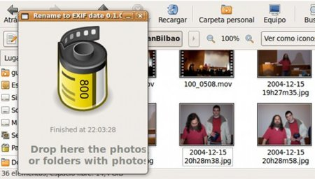 Rename to EXIF Date