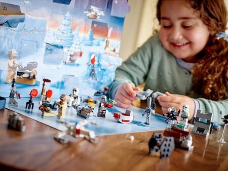Calendario de adviento de LEGO en Amazon México