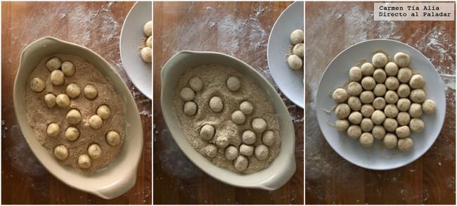 Collage Envolver Croquetas En Cero Coma Empanado