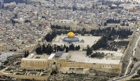 Temple Mount Aerial View 2007 01