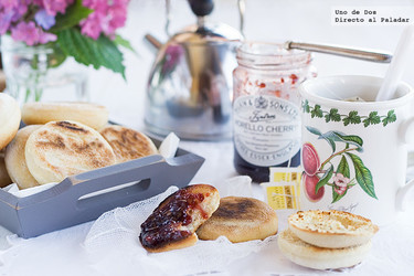 Receta de muffins ingleses, una clásico de la gastronomía británica