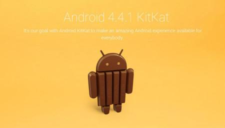 Android 4.4.1 está a la vuelta de la esquina