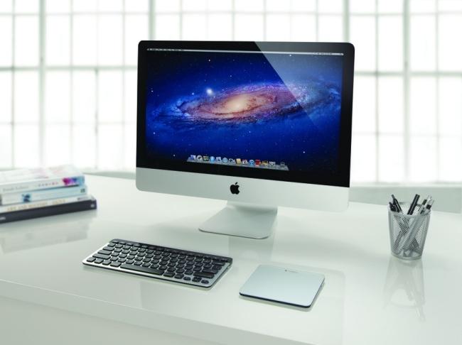 Logitech Easy Swicth y Trackpad recargable para Mac