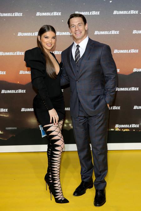 John Cena Looks Premiere Bumblebee Red Carpet Inspiation Suit 04