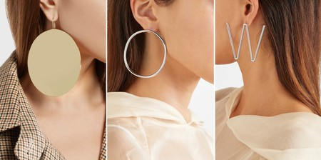 Marc Jacobs Off White Pendientes