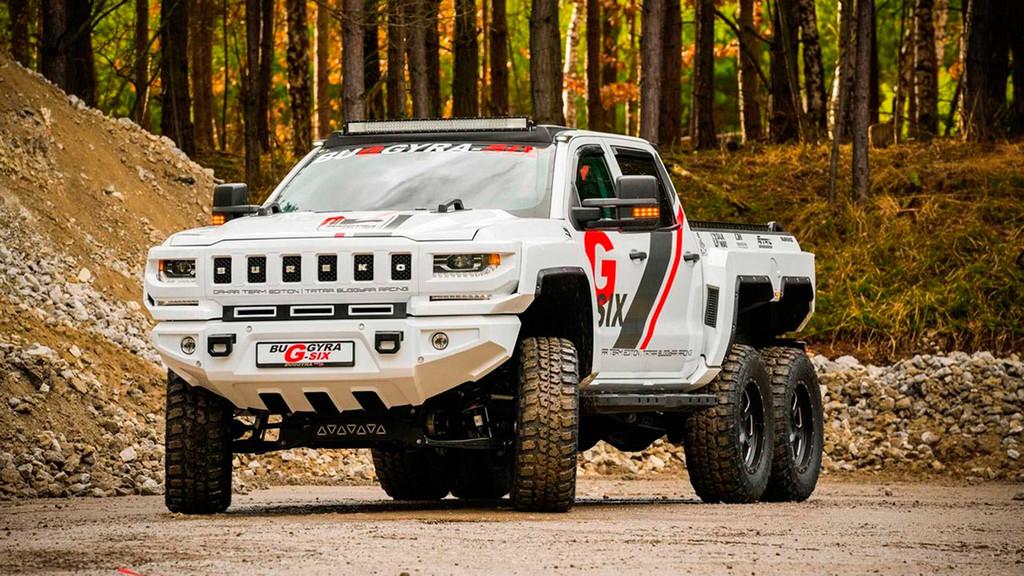 Este Bureko 6x6 convierte al Chevrolet Silverado en una bestia de seis ruedas y con hasta 1.000 CV de potencia