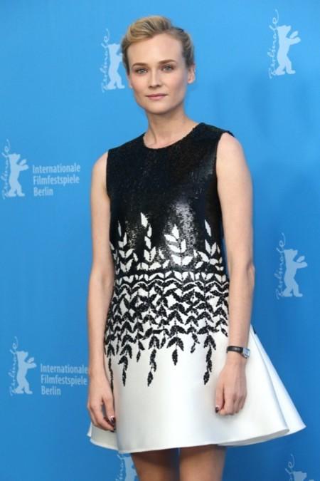 Diane Kruger pasea su estilo por Europa gracias al Festival de Cine de Berlín