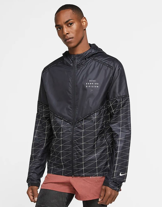 Chaqueta de running - Hombre Nike Flash Run Division