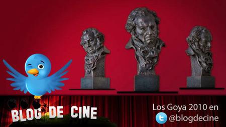 Sigue en directo la ceremonia de los Goya en Blogdecine y a través de Twitter