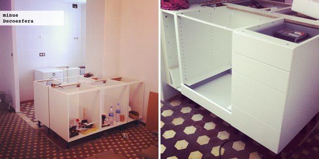 Proyecto minue merece la pena montarse la cocina de ikea - Muebles modulares ikea ...