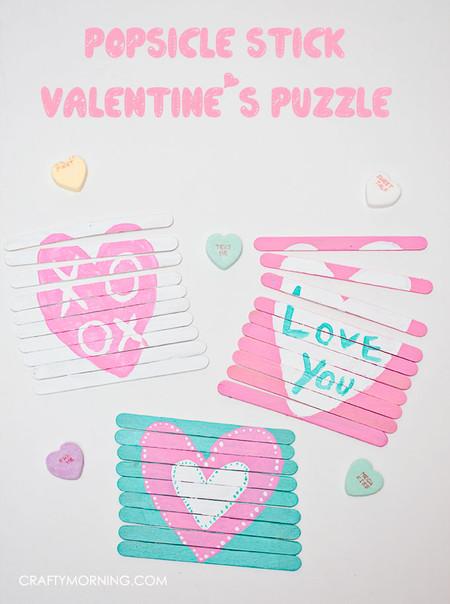 Manualidades San Valentin Puzzles