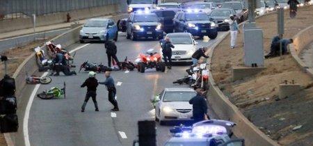 Lamentable: Siete motoristas detenidos y tres heridos tras desatar el caos absoluto en las calles de Boston