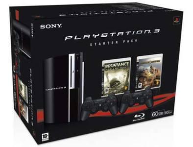 El Starter Pack de PlayStation 3 ya a la venta