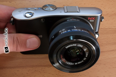Review Samsung NX100