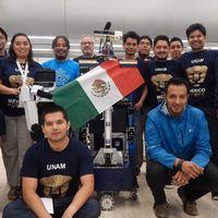 """""""Justina"""" y """"Takeshi"""", los robots de la UNAM que lograron el segundo lugar en la Robocup 2018 de Canadá"""