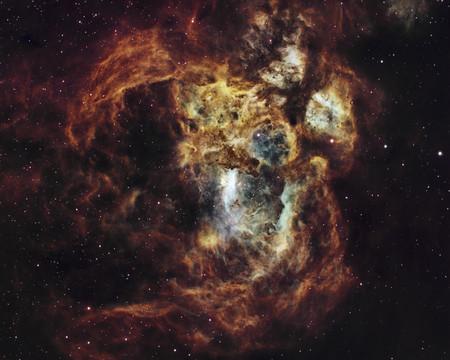 Fiery Lobster Nebula R Suavi Lipinski