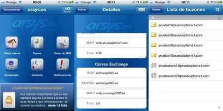 Arsys lanza una aplicación para el iPhone