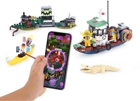 Así lucen los kits de realidad aumentada LEGO 'Hidden Side', que ahora son comercializados por Apple