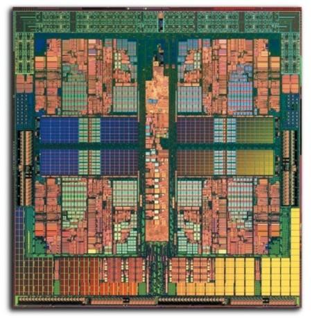 AMD Opteron Quad Core Shanghai oblea