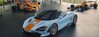 McLaren MSO viste al 720s con los entrañables colores de Gulf Oil y el resultado es espectacular