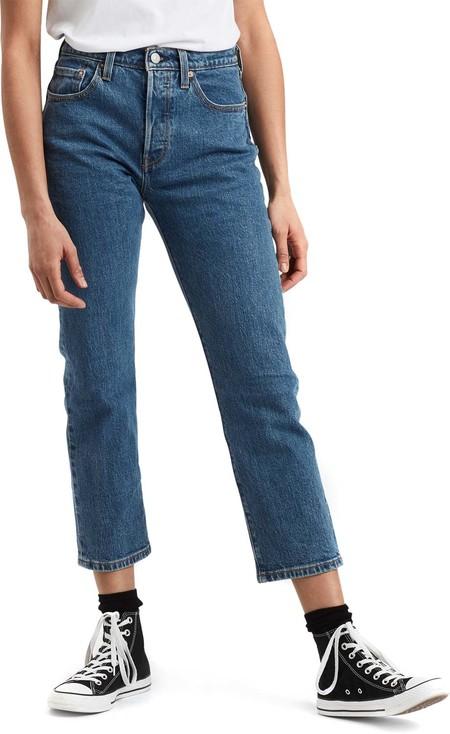 Levis R 501r Crop W Jeans Jive Stonewash 1400 Zoom 0