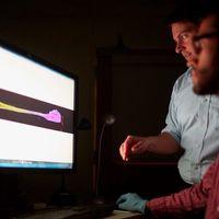 """Este señor cultiva """"electrodos vivos"""" en un laboratorio de Pensilvania para crear el implante cerebral definitivo"""