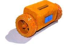 Clocky Alarm, el despertador con ruedas