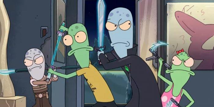 Tráiler de 'Solar Opposites', la disparatada nueva serie de ciencia ficción de uno de los creadores de 'Rick y Morty'