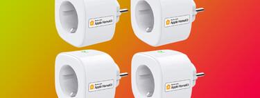 """Estos cuatro enchufes """"inteligentes"""" de meross están a menos de 60 euros en Amazon con cupón, y son compatibles con Apple HomeKit"""